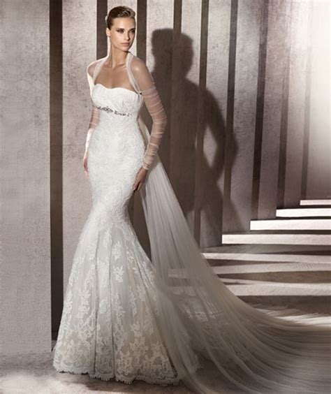 Wedding Dresses by Pronovias for Tall Brides » Tallook