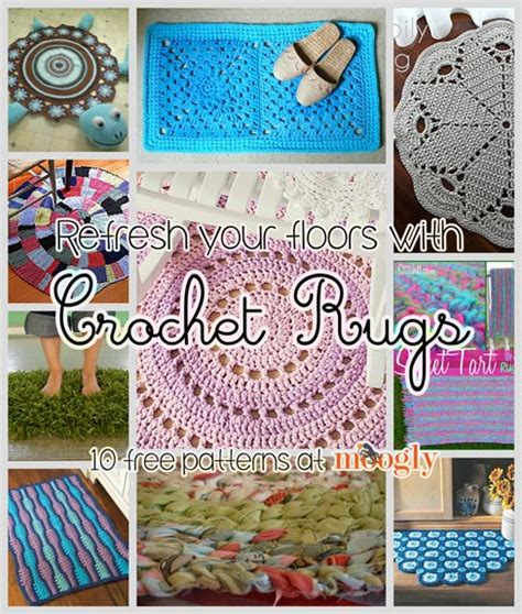 rug patterns free refresh your floors with crochet rugs 10 free patterns