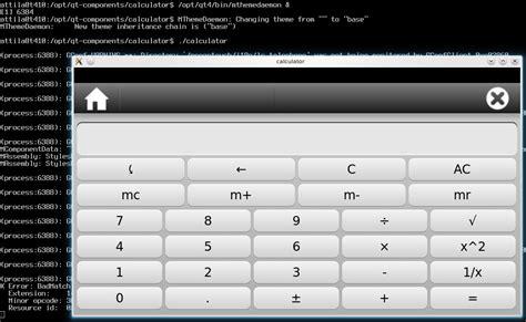 calculator qt qt funk fresh from the oven qt extras for ubuntu users