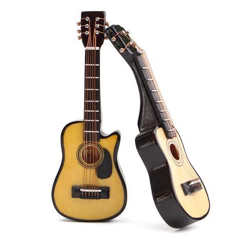 Miniatur Gitar Exlusive 3 1 12 scale dollhouse miniature guitar accessories instrument diy part for dollho ebay