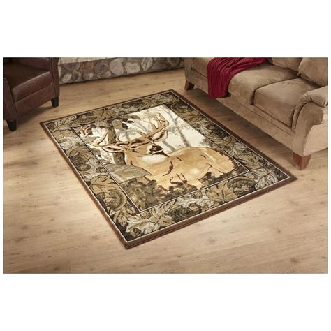 Camo Area Rug United Weavers Deer Camo Area Rug 669842 Rugs At Sportsman S Guide