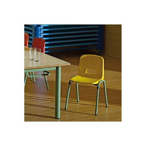 children and school chair to hang on the table school