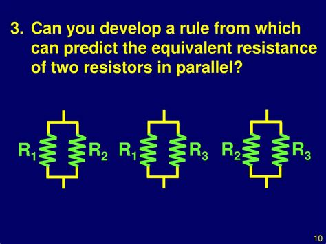two resistors r1 and r2 are in parallel with each other ppt investigation ohms resistances in series and parallel powerpoint presentation id 502754