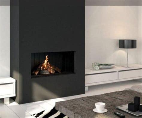 modern black fireplace fireplace modern design gen4congress