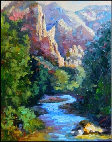 zion acrylic painting 1814 best images about of landscape on