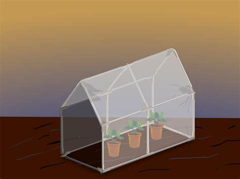 formas de hacer  mini invernadero wikihow