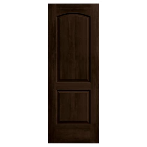 Interior Doors 30 X 80 Jeld Wen 30 In X 80 In Continental Espresso Stain Molded Composite Mdf Interior Door Slab