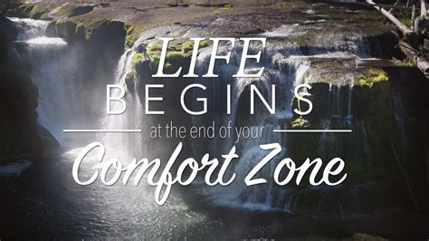 end of comfort zone life begins at the end of your comfort zone youtube