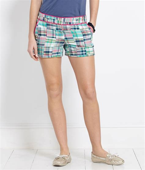 Womens Madras Patchwork Shorts - womens madras patchwork shorts 28 images womens madras