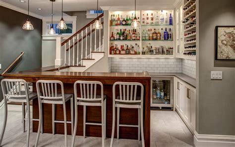 white basement bar  wine shelves homemydesign