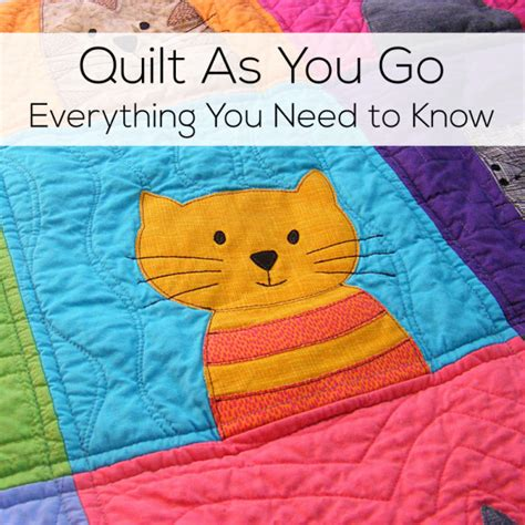 Easy Quilt As You Go by Quilt As You Go Everything You Need To Shiny