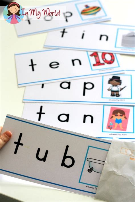 letter cards for words preschool letter t in my world