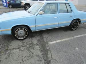 1984 Dodge Aries Dodge Aries 1984 Photo Picture Image On Use