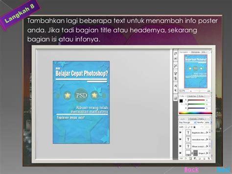 membuat poster dengan online cara membuat poster dengan photoshop cs3