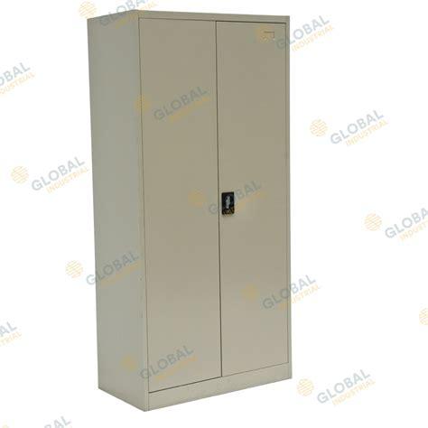 two door storage cabinet mk2 two door cabinet lockable storage cabinet global