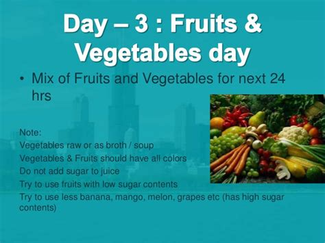 7 Day Fruit Veggie Detox by Archives Climatenews
