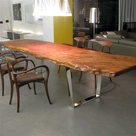slab dining room table 38 best images about redwood table with tourquise on pinterest