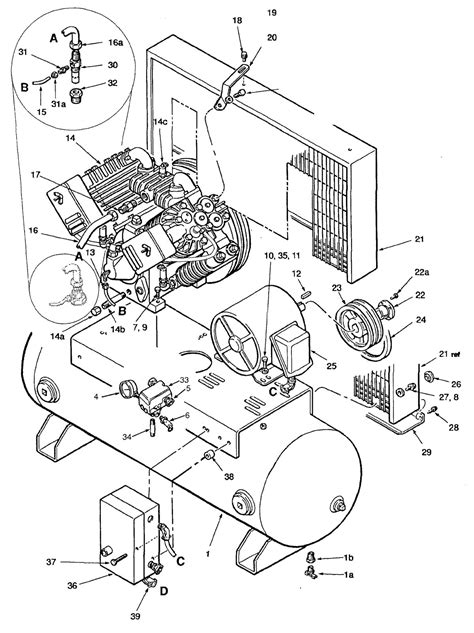 capacitors craftsman air compressor wiring diagram