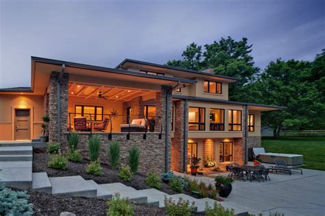 exterior outdoor living room and patio contemporary exterior cincinnati by rwa architects