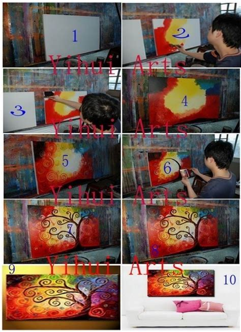 acrylic painting on canvas step by step 17 best images about canvas painting ideas and tutorials