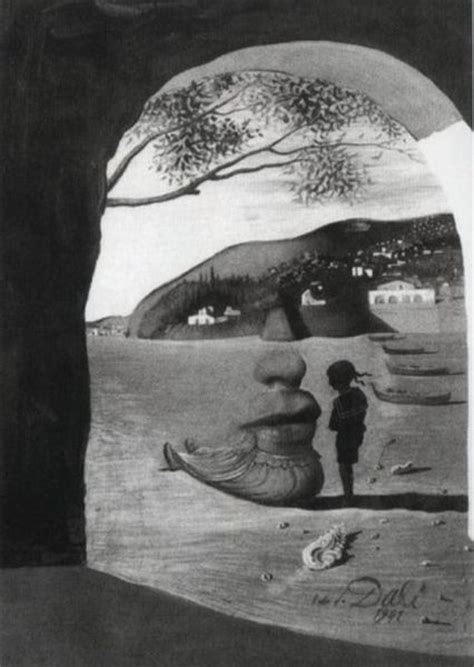 3 Paintings By Salvador Dali by Optical Illusions In Salvador Dali S Paintings 17 Pics