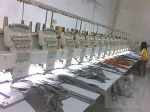 layout mesin garment membuat kaos dunia grafika
