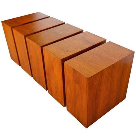 coffee table with storage cubes cube coffee table on storage cube coffee table rustic by natureinspiredcrafts on etsy