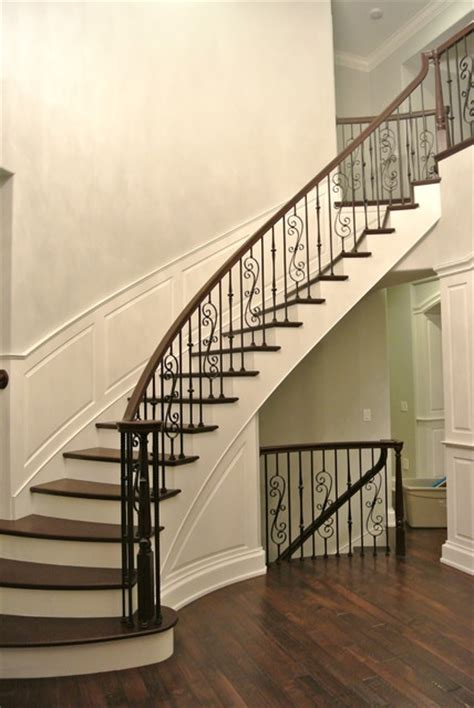 french country transitional traditional staircase other metro