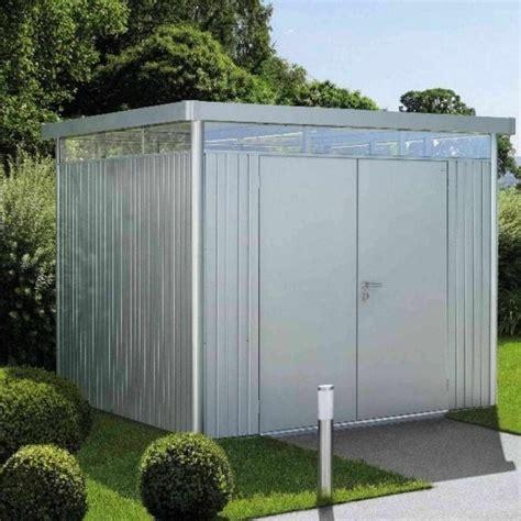 biohort highline  metal pent shed  garden street