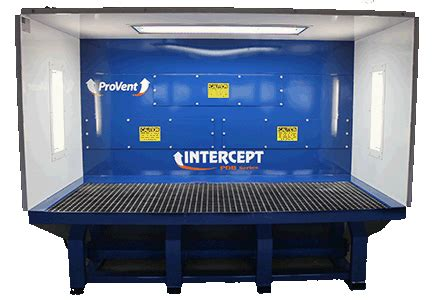 downdraft benches downdraft benches intercept pdb series by provent