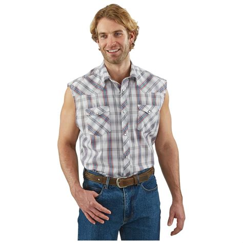 men s amarillo men s western sleeveless shirt 662865 shirts