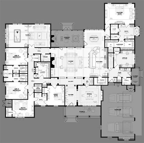 Large House Plans by Big House Plans Smalltowndjs