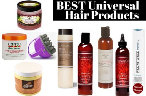 top products for relaxed hair best universal products natural hair relaxed hair