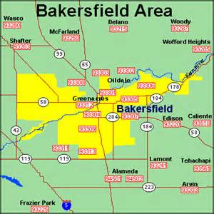 map of zip codes in california ehomes of bakersfield property management in bakersfield
