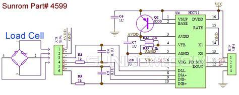 loadcell sensor  bit adc hx  sunrom