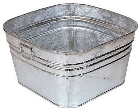 galvanized washtub traditional utility sinks by lehman s