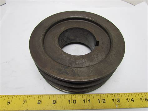 browning 3b62q 3 groove pulley sheave a or b v belt split