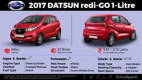 datsun go engine specification datsun redi go 1 0 litre launched in india launch price