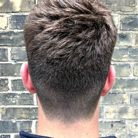 tapered nape haircut pictures men the best neckline haircuts blocked rounded tapered