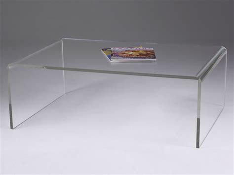 Meuble Casier Metal 1659 table basse plexiglas