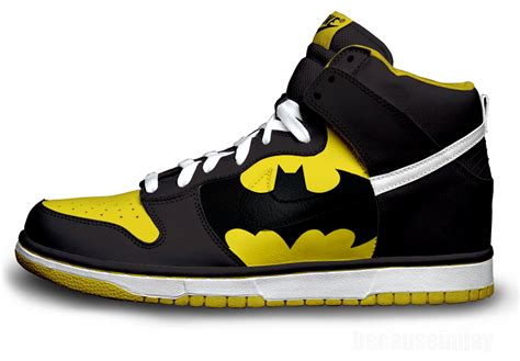 batman sneakers for batman nike dunks by becauseimjay on deviantart