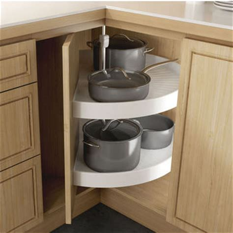 Lazy Susan Cabinet Door Lazy Susans Hafele Pie Cut 2 Shelf Set For Door Attachment Kitchensource