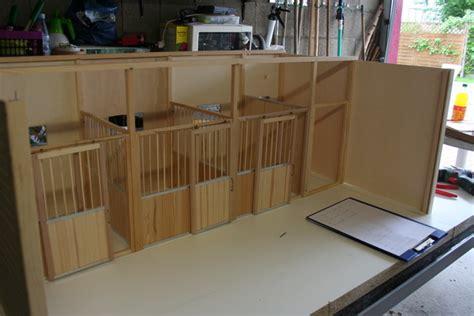 selbstgebauter schleich stall pferdestall selber bauen bauanleitung pferdestall f r