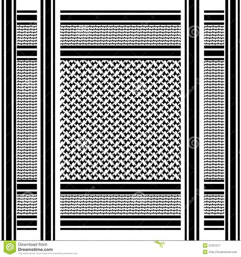 arabic scarf pattern arab shemagh scarf royalty free stock photography image
