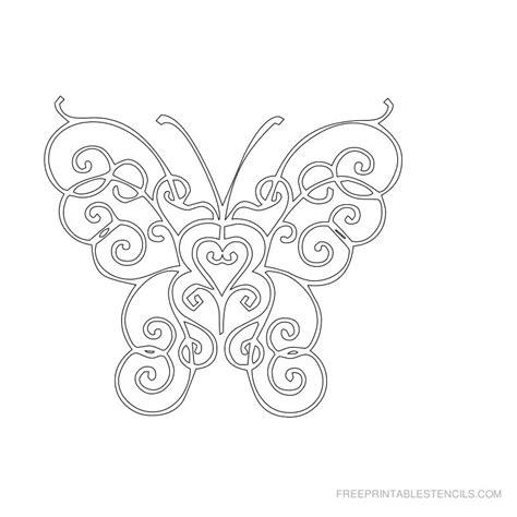 printable stencils of butterflies free printable butterfly stencils free printable stencils
