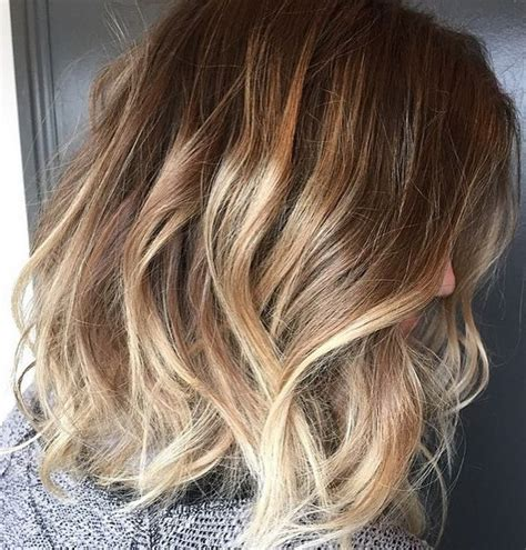 ombre hair color on a bob brown bob hair color with ombre hair hairtrends 2015 2016