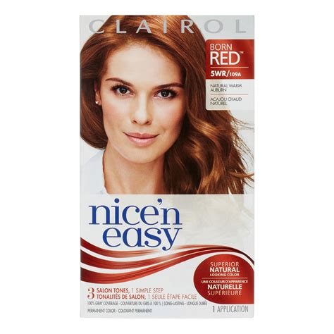 clairol nice n easy hair color only 2 50 at walgreens clairol nice n easy permanent hair color 5wr natural warm