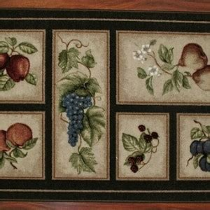 Kitchen Rugs Fruit Design Fruit Kitchen Rug Sets