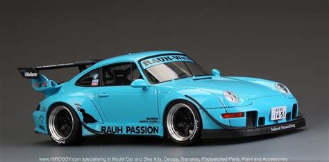 porsche widebody rwb 1 24 rwb porsche 993 widebody kit for ver quot rauh