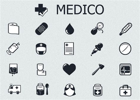 Free Online Design Software free black and white medical icon set crazyleaf design blog